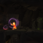 Pouvoir Moine The cave