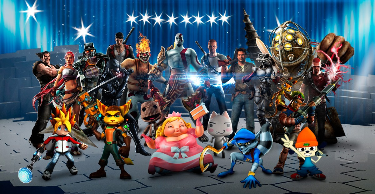 PlayStation All-Stars Battle Royale Roster 2 by PacDuck on